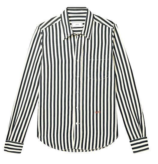 AMI條紋收身恤衫$1603(from Mr.Porter)(品牌提供)