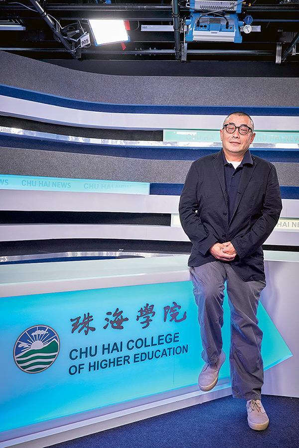 珠海學院新傳系高級講師梁德民
