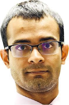 薛達(Siddharth Sridhar)(香港大學微生物學系臨牀助理教授)(受訪者提供)