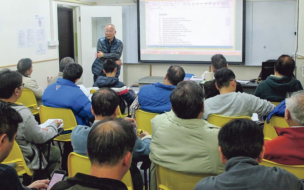 ▲機電工程協會 (香港) 有限公司提供多元進修途徑,從證書到文憑,以至備試課程,讓有意投身機電工程界的人士及業界人士,接受正規培訓,投考相關專業資格,強化就業競爭力。