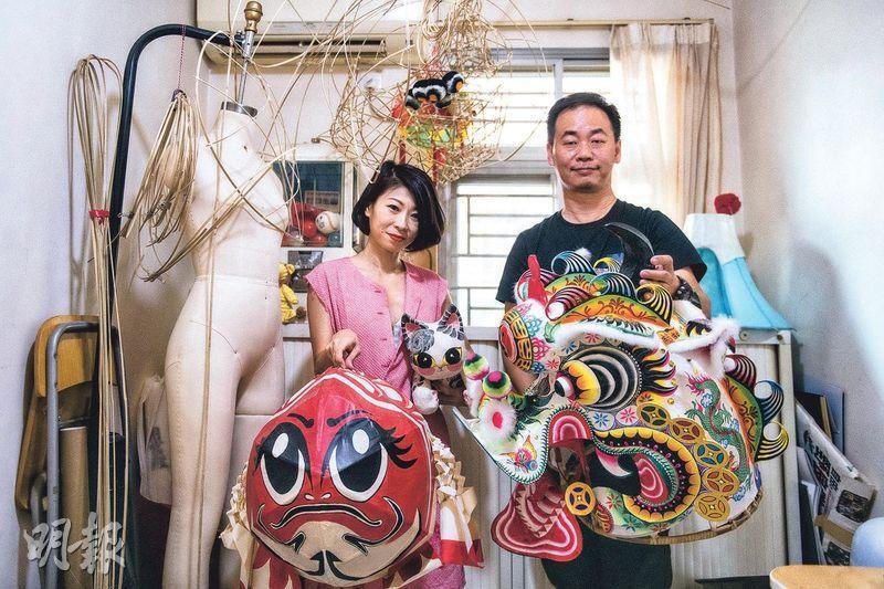創新傳統 獅頭魚尾 兩代紮作人 合璧再世盧亭