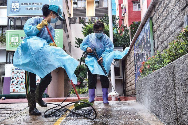 小學拍「防疫劇場」 教戴罩棄罩