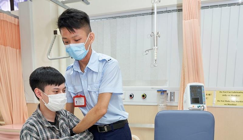 為 DSE 放榜做準備 加入護士行列<br>修讀醫管局護士課程 實踐助人理想
