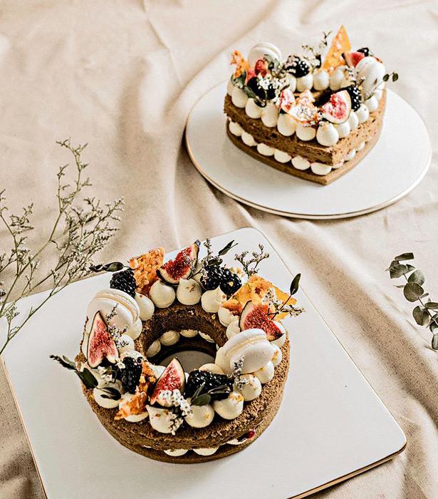 Jan及Angel設計的母親節主題蛋糕「Everlasting Garden」。
