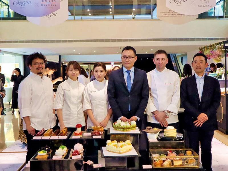 Jan 及Angel 曾獲邀往台灣晶華酒店設立期間限定店,作品大受歡迎。