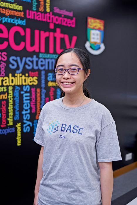 香港大學「文理學士(金融科技)」課程學生李曉朗(Hess)。