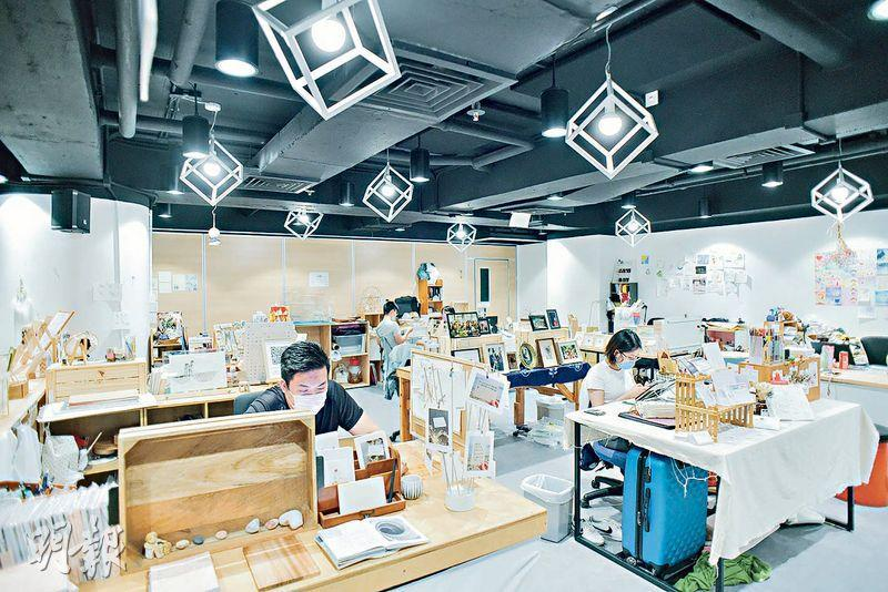 Trial and Error Lab是一個共享空間,為有志投身文創產業的年輕工藝師提供「試錯」機會。(黃志東攝)