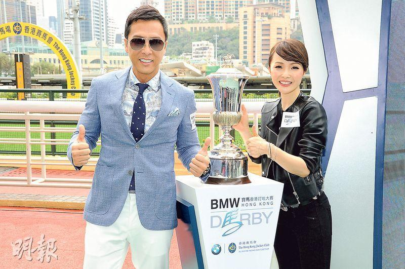 Donnie yen's wife likes him with a little belly - Asian ...