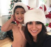 Laleh Mohmedi與兒子Jacob(jacobs_food_diaries Instagram圖片)