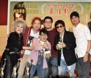 邵音音、泰迪羅賓、郭子健、梁小龍、林家棟到內地宣傳出爐金像獎最佳電影《打擂台》。