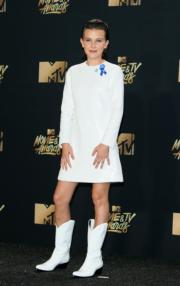 Millie Bobby Brown In Calvin Klein By Appointment