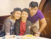 自從母親病癒,容祖兒更珍惜與家人相聚時間,因為親情最可貴。