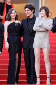 今年的開幕電影Ismael's Ghosts,由瑪麗安歌迪雅(左)主演,她繼《迷情花月》後再跟路易加維爾(中)合作,同片拍檔還有莎樂甘斯堡(右)。