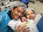 黎諾懿興奮迎接家庭新成員。