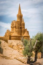 巨型城堡(法新社)