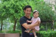 徐榮與包包是最佳父女檔。(資料圖片)