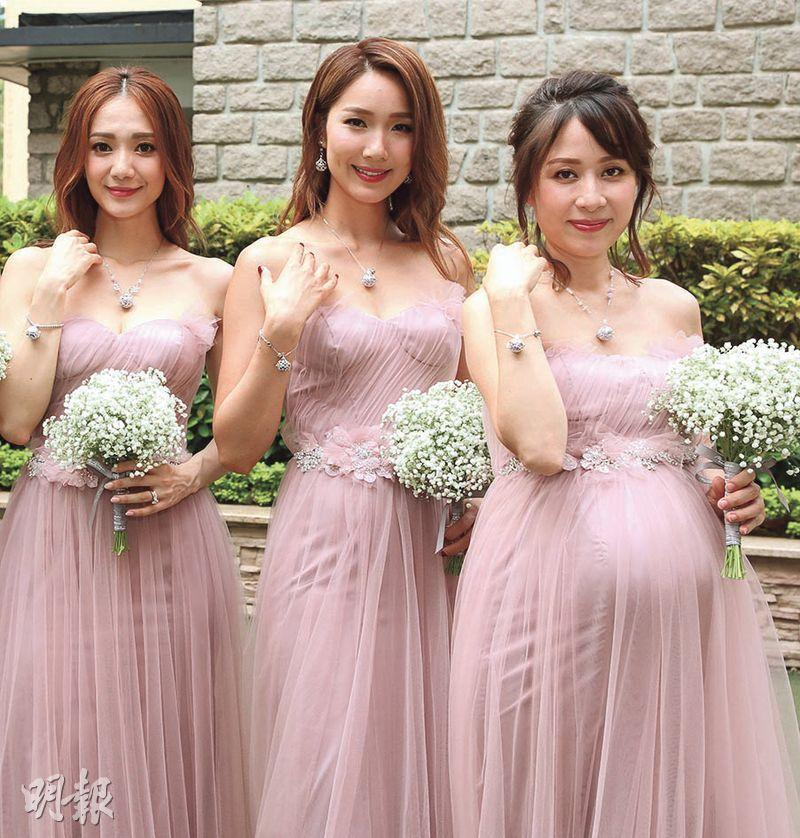 Simple Wedding Dress Hong Kong: Eric Suen And Macy Chan Held Their Wedding Ceremony In