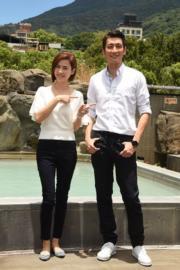 「Mall姐」宣萱和「游生」袁文傑,擔任今屆港姐台北外景的嘉賓。
