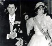 查理斯(左)與戴安娜(右)(1982年黑白資料圖片)