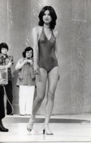 1977年的季軍余綺霞。(資料圖片)