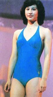 1980年參選佳麗還有這位林綺雯,即是現在的林漪娸,《愛.回家》的阿嫦呢!
