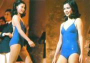 1982年參加港姐的翁美玲。(資料圖片)