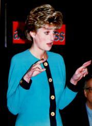 戴安娜(1992年12月,法新社資料圖片)