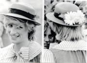 1983年3月,戴安娜外訪澳洲。(資料圖片)