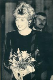 戴安娜(1992年10月,法新社資料圖片)