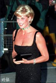 1997年7月的戴安娜(法新社資料圖片)