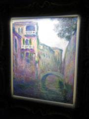 莫奈《威尼斯安康運河》(黃廷希攝)