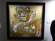Jean-Michel Basquiat《領袖》(1982年作)(黃廷希攝)