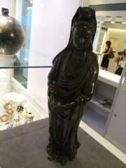 清十九世紀 銅錯銀觀音立像(黃廷希攝)