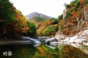 韓國紅葉:全羅北道 Muju Gucheondong