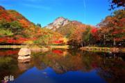 韓國紅葉:全羅南道 內藏山