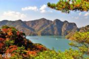 韓國紅葉:忠清北道 忠州湖