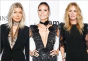 【amfAR 洛杉磯晚宴】黑色的可塑性:名模女星 Who.Wear.What