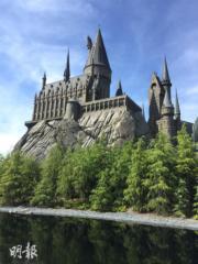 【大阪環球影城】「哈利波特魔法世界」霍格華茲城堡(黃廷希攝)