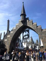 【大阪環球影城】「哈利波特魔法世界」(黃廷希攝)