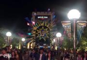 【大阪環球影城】大阪環球影城快到關門時間,遊人盡興而返。(黃廷希攝)