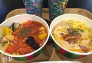 【大阪環球影城】園區內的意大利麵各約110港元一碗。(黃廷希攝)