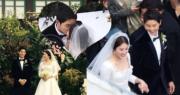 宋仲基與宋慧喬因合演《太陽的後裔》而撻着,婚後兩人要炮製太陽的後裔。(網上圖片)