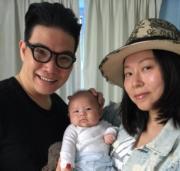 蘇永康與太太馮翠珊今年3月誕下囝囝Jazz(蘇展弘),展開三人新世界。