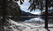 2017年11月14日,德國阿爾卑斯山附近的Spitzingsee湖 (法新社)