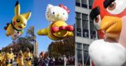 美國百貨公司梅西百貨在紐約舉行一年一度的感恩節巡遊。(法新社)