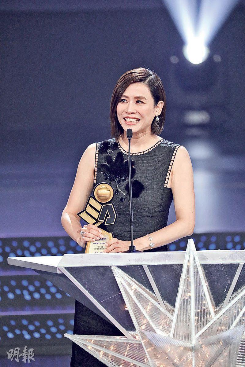 Jessica Hsuan TVB Star Awards...