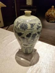 元.青花鳳紋牡丹紋梅瓶