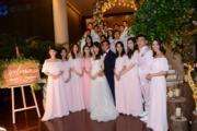 陳嘉寶與丈夫黃頌祈邀請了24位好友擔任他們的兄弟姊妹團。(資料圖片)