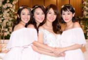 陳凱琳、陳瀅、蔡穎恩跟陳嘉寶情同姊妹。(資料圖片)