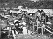 屯門漁村。(圖片及資料由香港社會發展回顧項目提供)